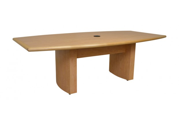 Boat Shaped Conference Table Action Laminates - Conference table bases wood